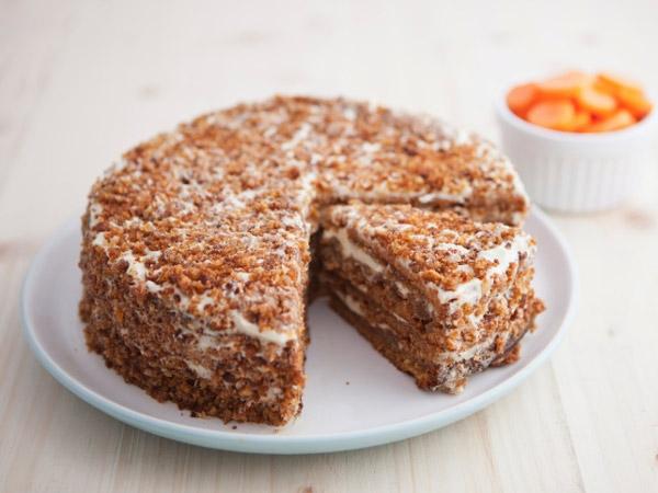 Healthy Cake Recipe: Carrot Cake