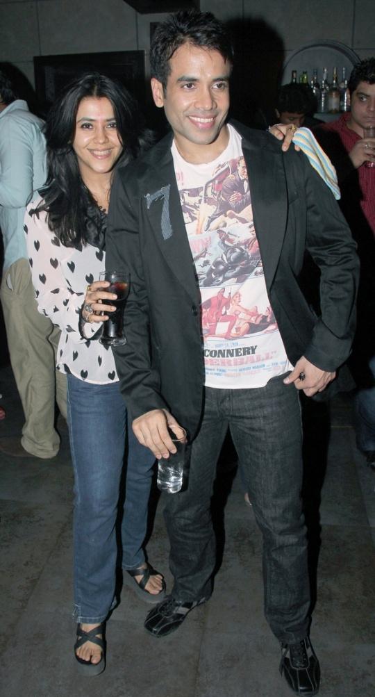 Ekta Kapoor and Tusshar Kapoor