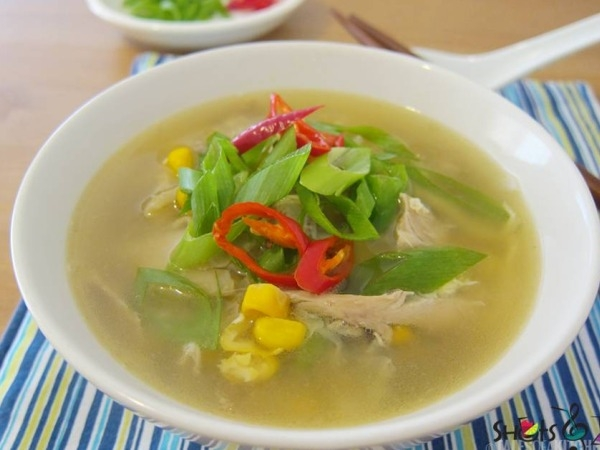 Healthy Soups:  Sweet Corn Soup Recipe