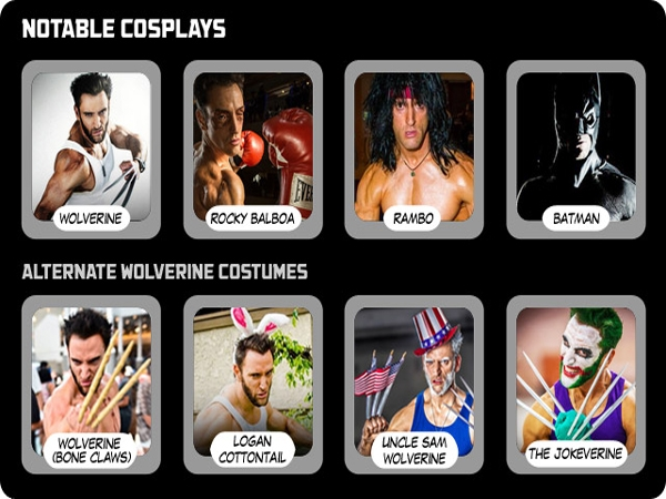 World's Fittest Cosplayers: Lonstermash