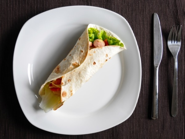 Healthy Heart Recipe: Baked Vegetable Roll Up