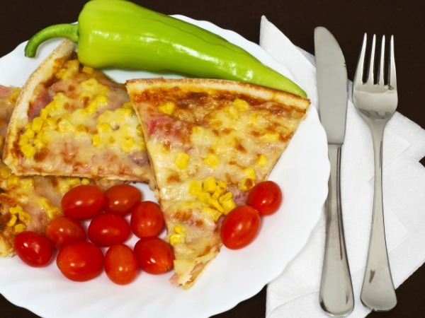 Monsoon Snack: Baby Corn And Sweet Corn Pizza In A Pan