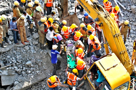Chennai Building Collapse: Death Toll Mounts to 43