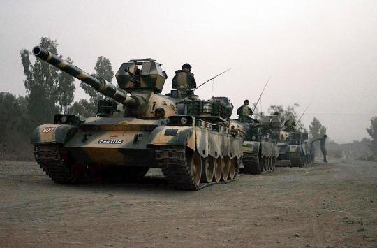 Pakistan Launches Ground Attack On Jihadis in Waziristan