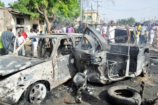 Nigeria Market Blast