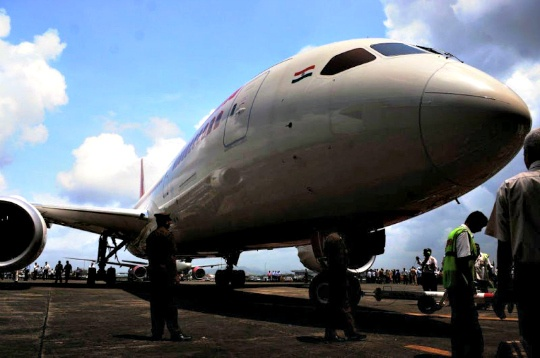 Air India Dreamliner Grounded in Hong Kong
