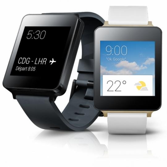 LG G Watch, Samsung Gear Live
