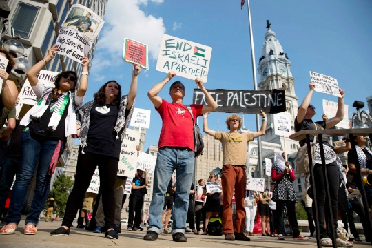 Worldwide Protests Against Gaza Attack