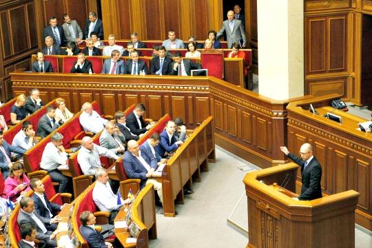 Ukrainian Prime Minister Arseny Yatseniuk