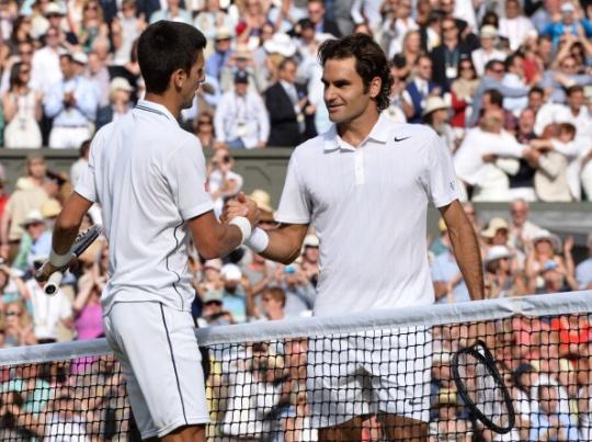 Roger Federer-Novak Djokovic
