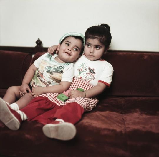 Ekta Kapoor and Tusshar Kapoor childhood photo