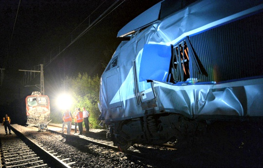 TGV Train Crash in France