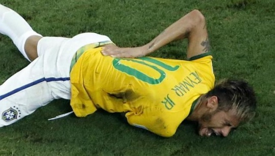 Brazil's Neymar Out of FIFA World Cup