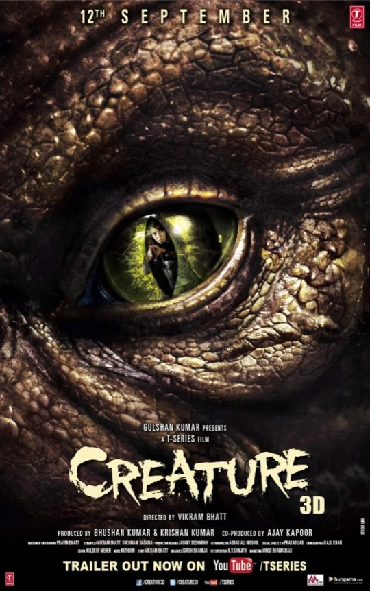 Creature 3D poster