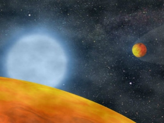 WASHINGTON: US scientists said on Thursday two distant Earth-like planets, which some believed might be able to harbor life, do not actually exist and that astronomers were confused by a star's sunspots. The controversial pair of planets, Gliese d and g, some 22 light years away, were once believed to be in the Goldilocks zone — not too close and not too far from the star, where the potential exists for water and perhaps life.  They are part of a larger trove of potentially Earth-like planets that have been identified by astronomers so far, and NASA has said billions may be out there.  Too far to be seen with the naked eye or a telescope, they were spotted with a technique called Doppler radial velocity, orbiting a cool, red star called Gliese 581.  The method takes starlight from telescope and analyzes its wavelengths. By detecting signs of a wobble from the gravitational tug of an orbiting planet, it can reveal the mass of a planet.  But astronomers at Pennsylvania State University now say Gliese 581 g and d were not planets at all, but a jumbled signal from the star itself.