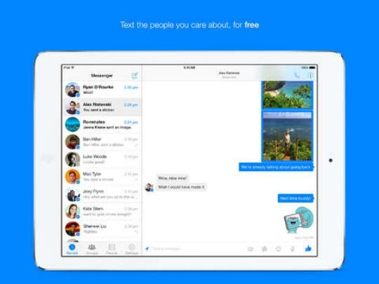 Facebook Messenger 7.0 for iOS