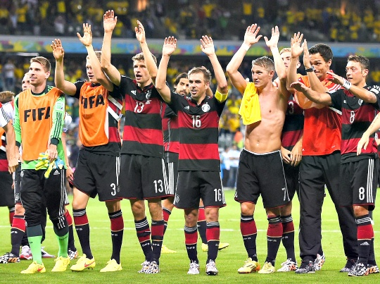 Germans Want World Cup Title After Brazil Rout