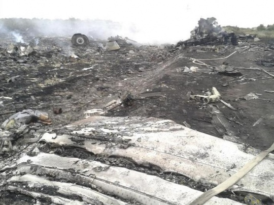 Malaysia Airlines Boeing 777 plane crash