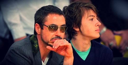 Robert Downey Jr. Proud of Addict Son