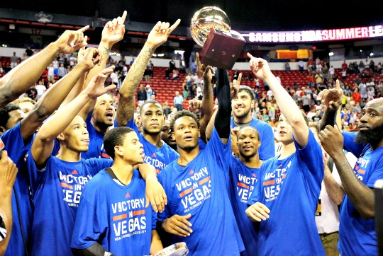 Sacramento Kings Win Summer League Title