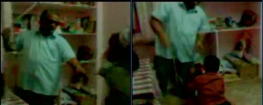 School principal held for thrashing visually impaired students