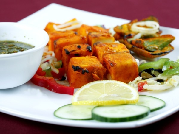 Makhmali Paneer Tikka  ( Healthy Starter Recipe )