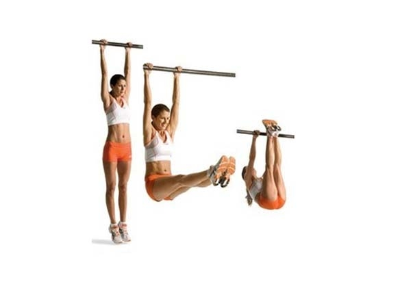 Workout Video: Hanging Leg Raises For Six Pack Abs