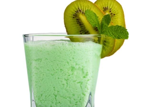 Healthy Drink: Kiwi-Mint Smoothie Recipe