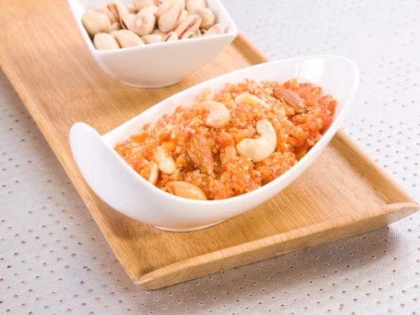 Fast Foods Made Healthy: Low Calorie Gajar Halwa