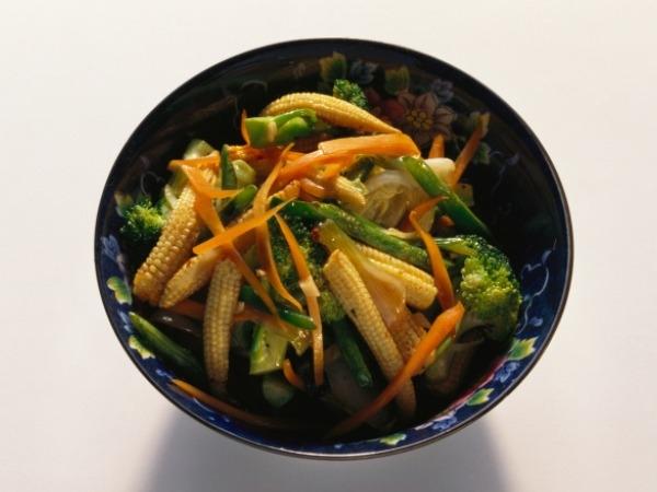 Healthy Snack: Baby Corn Phudina Recipe