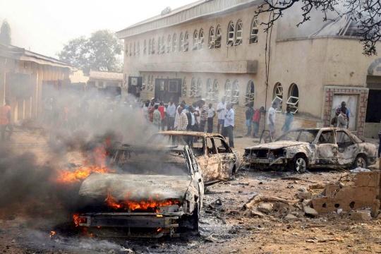 Bomb Blast Kills 40 in Nigeria