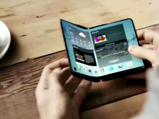 Samsung's Foldable Tablet Coming in 2015