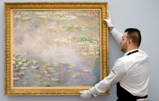 Monet's Water Lilies Fetches $54 Million