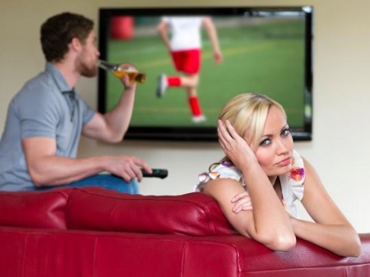 Football over sex