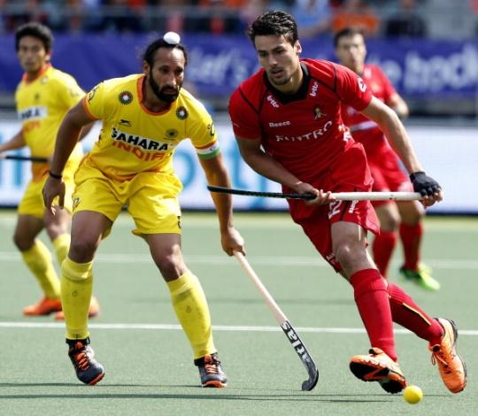 India Lose Against Belgium