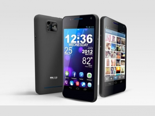 Blu Products annouce an Android 4.0 touting dual-SIM phone