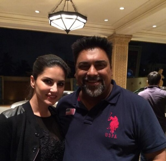 Ram Kapoor and Sunny Leone