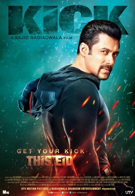 salman khan kick poster
