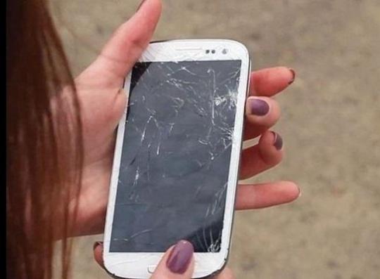 Broken Phone Display