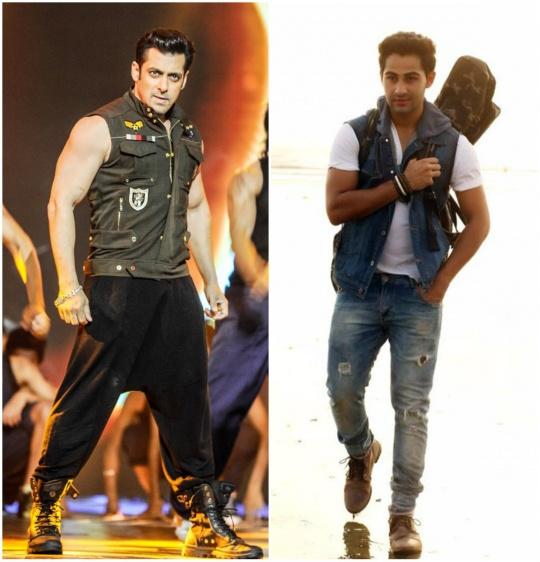 Salman Khan and Armaan Jain