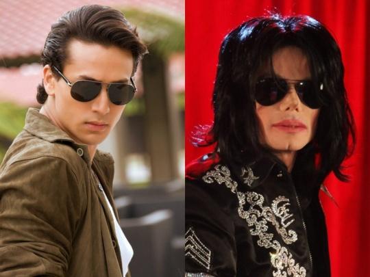 Tiger Shroff and Michael Jackson