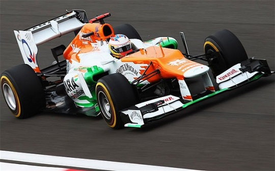 Force India To Start 10th, 16th In Austria