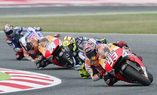 Marc Marquez in Seventh Heaven With Win