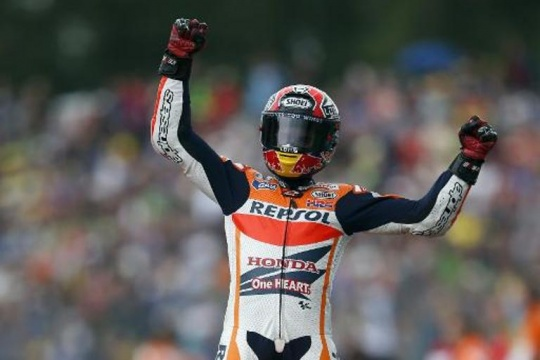 Marquez Clocks Record Eighth Victory