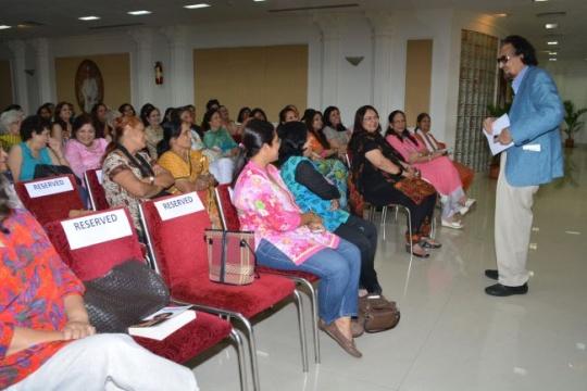 Seminar on Women Empowerment with Mr. Alyque Padamsee