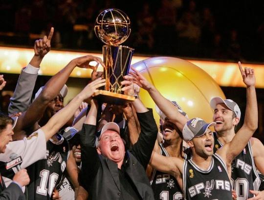 Profile of NBA Champion Spurs