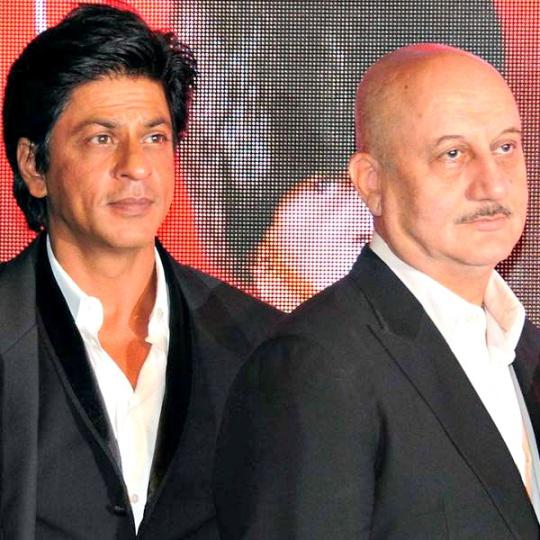 Shah Rukh Khan, Anupam Kher