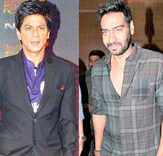 Shah Rukh Khan, Ajay Devgn