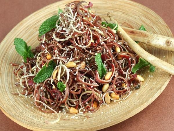 Healthy Salad: Banana Flower Salad Recipe