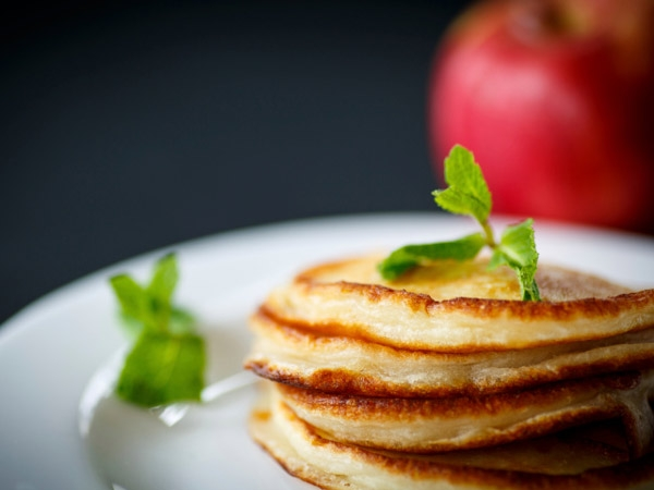 Healthy Diabetic Recipe: Apple Crepes
